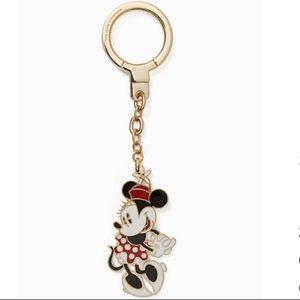 kate spade Accessories - 🎉HP 🆕 Kate Spade x Disney Minnie Mouse Key Fob